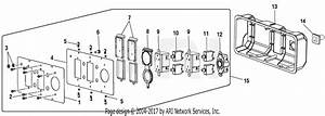 Homelite Ps907000a Powerstroke 7 000 Watt Generator Parts