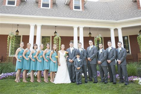 hollow brook golf club wedding photo kristen anthony