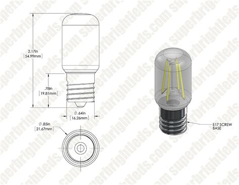 t22 led replacement bulb for wb36x10003 and other