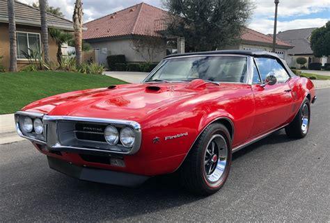 1967 Pontiac Firebird Convertible 400 4-speed For Sale On
