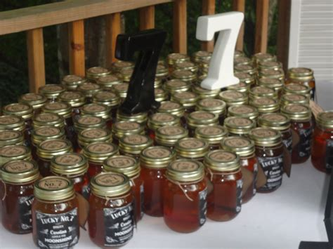 Moonshine Wedding Favors Made By My Father In Law