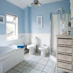 blue bathrooms decor ideas pale blue and white traditional style bathroom bathroom decorating housetohome co uk
