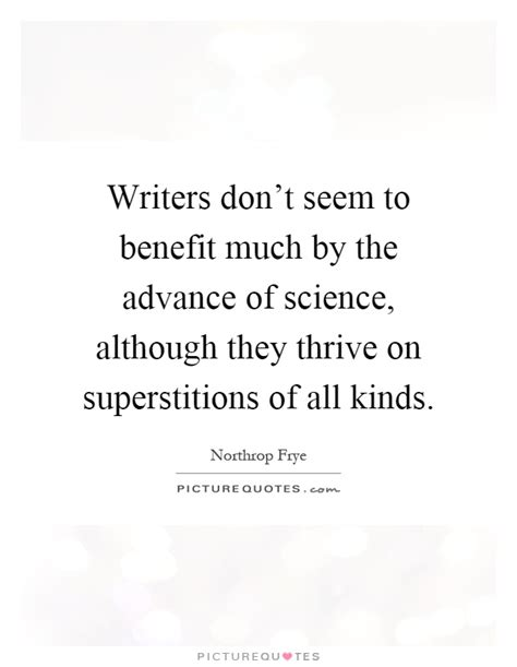Writers Don't Seem To Benefit Much By The Advance Of