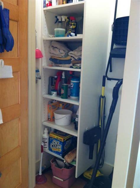 broom closet cabinet lowes ideas advices for closet