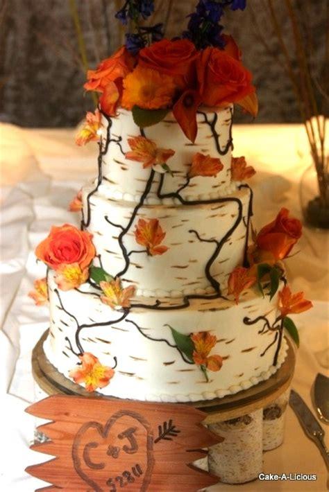 Birch Tree Cake That Danica Is Going To Make Wedding