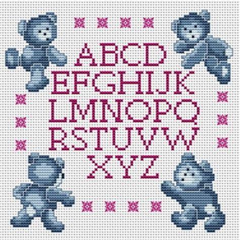 modele lettre point de croix gratuit grille gratuite abecedaire au point de croix 11