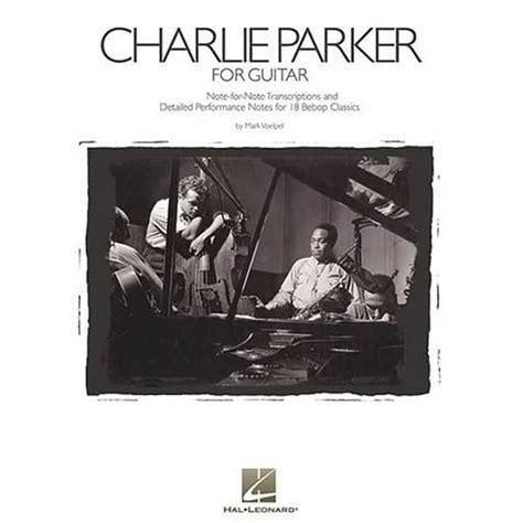 jazz yelp mark voelpel charlie parker  guitar book