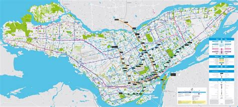 montreal transport map