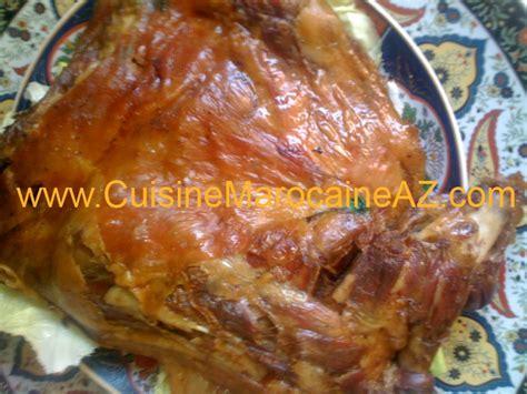 la cuisine de az méchoui المشوي la cuisine marocaine de a à z