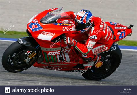 moto gp rider casey stoner  australia speeds  ducati
