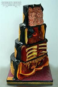 A Gruesome Dissected Cake That Contains  U2018human Body Parts
