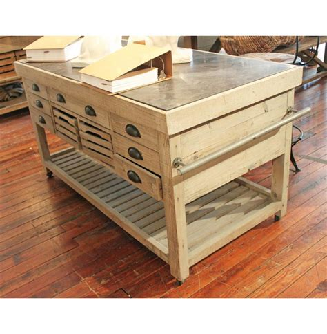 60 kitchen island belaney rustic lodge light pine wood blue 60 inch