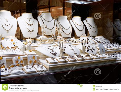 Garnet Jewelry Shop Royalty Free Stock Images Image