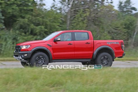 spied lhd ranger raptor testing   video pics