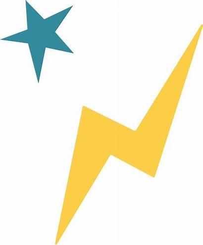 Lightning Bolt Star Svg Cut Supply