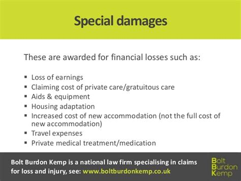 General And Special Damages