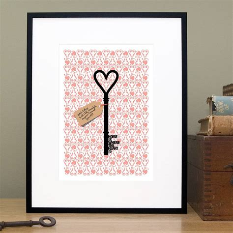 home design gifts personalised home is where new home gift print by