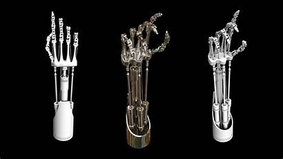 Hand Mechanical 3d Terminator Models Cgtrader Poly
