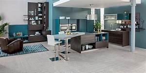 oser la couleur dans sa cuisine blog domial With quel mur peindre en fonce 16 quelle couleur mettre avec une cuisine grise