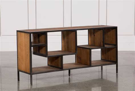 Bookcase Console by Console Bookcase Living Spaces