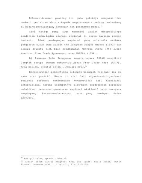 Hukum perdagangan internasional prinsip prinsip dan