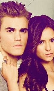 Stefan Salvatore & Elena Gilbert   Vampire diaries, Paul ...