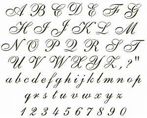 25 best ideas about cursive alphabet on pinterest With pictures of script letters