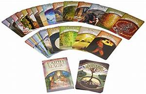 Earth Magic Oracle Cards  A 48-card Deck And Guidebook