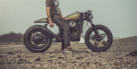 for motorcycle fans honda cx500 cafe racer by nozem amsterdam