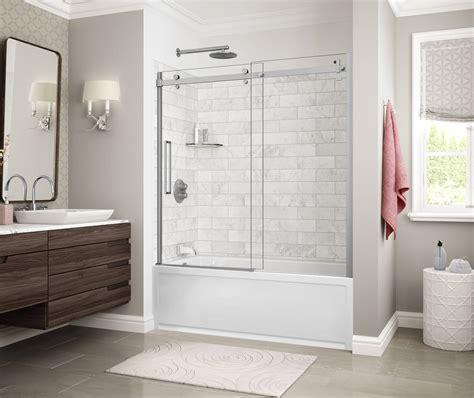 designer series utile marble tubshower