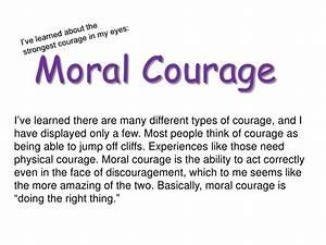 courage essay ideas