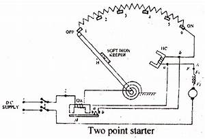 Electrical Topics  Types Of Dc Machine Starter