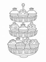 Coloring Tea Pages Issuu Elegant Zum Cake Mandalas Ausmalen Adult Cakes Books Cup Ausdrucken Drawing Buch Mal Wenn Du Parties sketch template