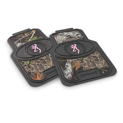 Browning Floor Mats And Seat Covers by Browning 174 Universal Pink Camo Steering Wheel Cover