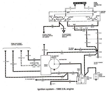 ford ranger bronco ii electrical diagrams   ranger