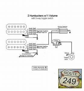Guitar Wiring Diagram One Volume One Tone