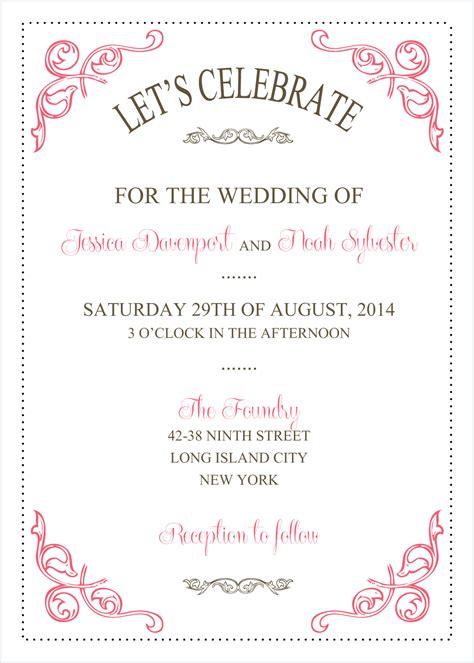 wedding invitation templates Google Search Wedding