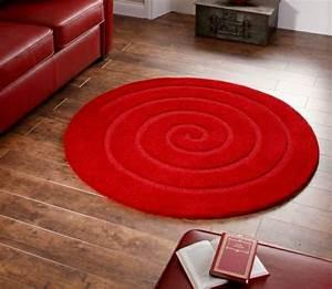 Tapis Rond Design : osez le tapis rond pour un int rieur tr s la mode ~ Teatrodelosmanantiales.com Idées de Décoration