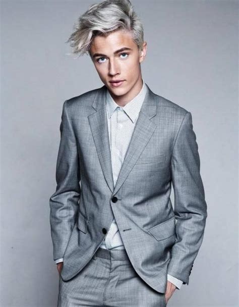 Bleached Hair For Men Achieve The Platinum Blonde Look