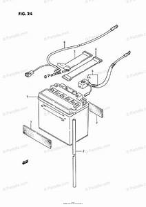 Suzuki Atv 1988 Oem Parts Diagram For Battery