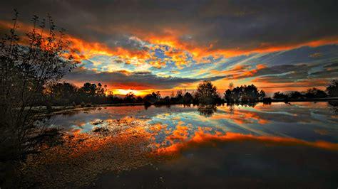 sunset scenic hd desktop wallpaper instagram photo