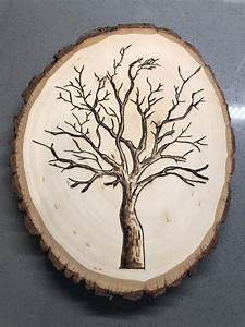 Wood, Burned, Tree, On, Piece, Of, Timber