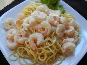 shrimp alfredo will cook for smiles