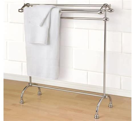 mercer towel stand   bathroom towel racks towel