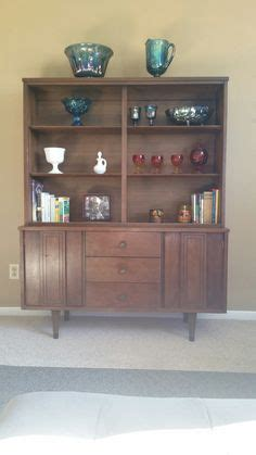 Distinctive Furniture By Stanley Hutch by Mid Century Modern Garrison China Cabinet The Gathered