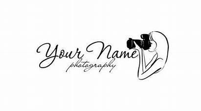 Camera Lady Holding Logos Wanelo Premade