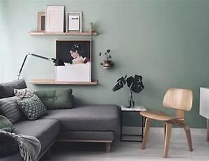 Salon Vert D Eau : best deco salon vert deau ideas design trends 2017 ~ Zukunftsfamilie.com Idées de Décoration