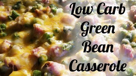keto  carb thanksgiving green bean casserole recipe