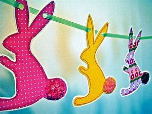 Easter decoration crafts – 20 ideas for fresh garlands for