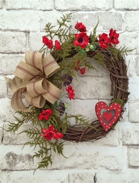 valentine wreath valentines day wreath valentine decor